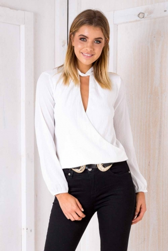 Elaine top - White