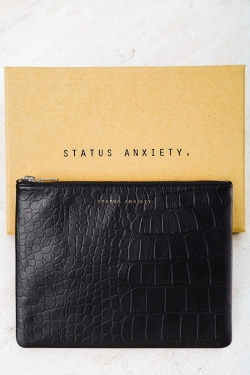 STATUS ANXIETY ANTIHEROINE WALLET - BLACK