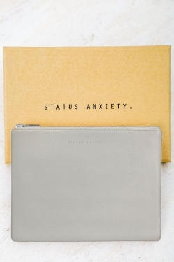 STATUS ANXIETY ANTIHEROINE WALLET - LIGHT GREY