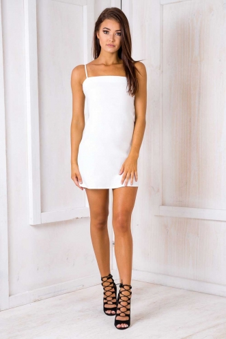 Sadie Dress - White