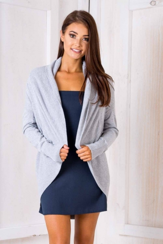 Winter Warrior Cardigan - Grey-SALE