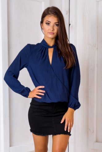 Elaine Top - Navy-SALE