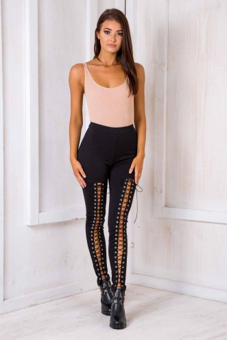 Biker Chick Pants - Black