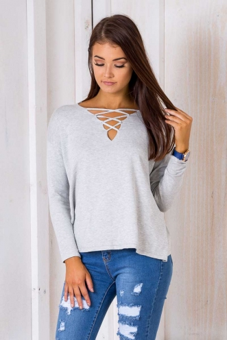 Claire - Ellen Jumper - Grey