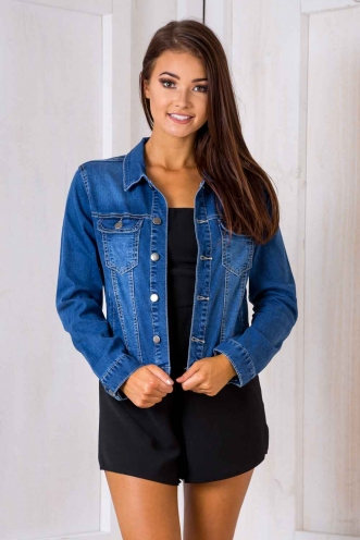 Fusion Denim Jacket - Blue Denim