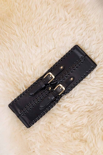 Double Dipper Belt - Black