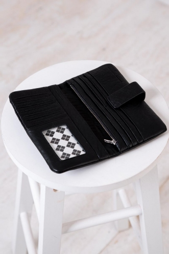 STATUS ANXIETY ESTHER WALLET - BLACK BUBBLE
