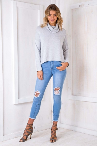 Night Fever Jumper - Grey