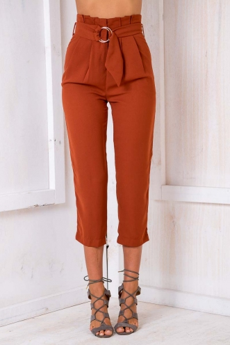 Sun Dancer Pants - Terracotta