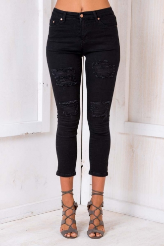 Honesty Denim Jeans - Black