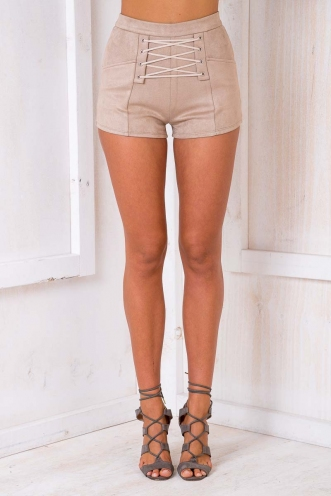 Code Muscle Shorts - Beige