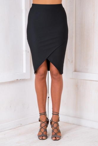 Time to Shine Skirt - Black