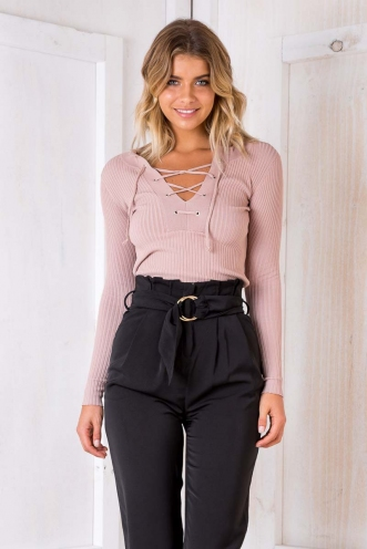 Lucky Charm Top - Blush