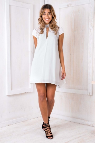 Marmalade Dress - White