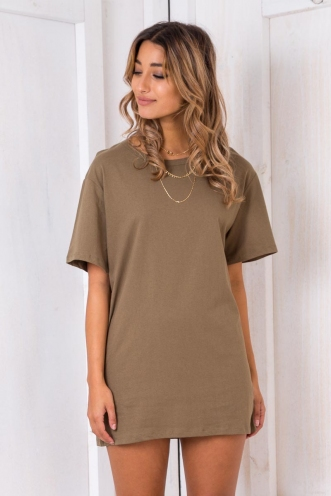 The Shire Dress - Khaki