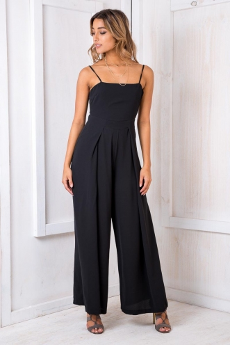 Spirit Walker Jumpsuit - Black