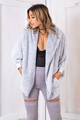 Cuddly Jumper - Grey
