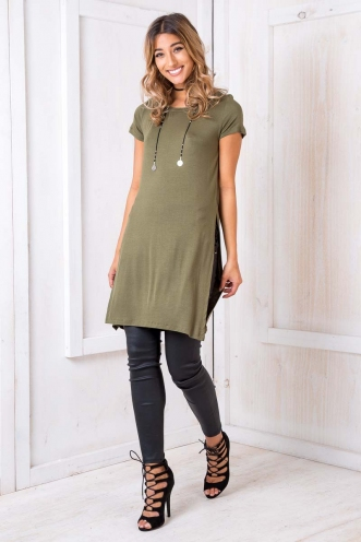 I Can Knot Top - Khaki
