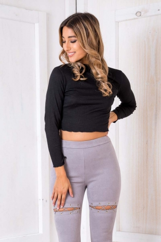 Bewitched Top - Black