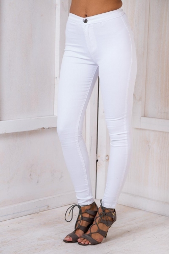 Laurie skinny leg jeans - White