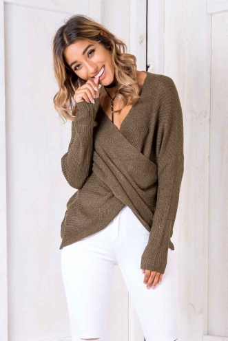 Tea Leaf Jumper - Khaki