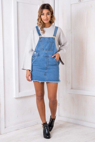 Over It Overalls - Blue Denim