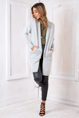 Along Came Bobby Cardigan - Grey