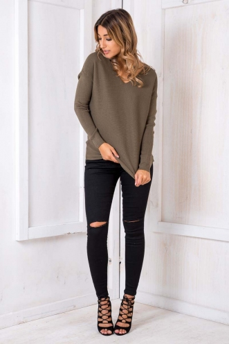 Brooklyn jumper - Khaki