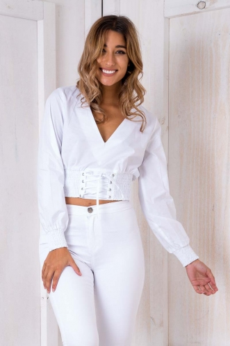 Bowie Top - White