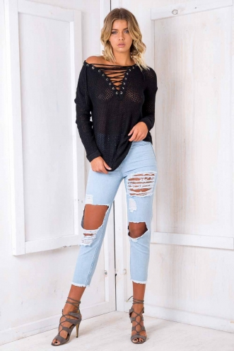 Annaliese Jumper - Black