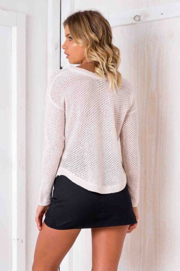 Annaliese Jumper - Blush
