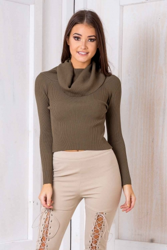 Virgo Top - Khaki