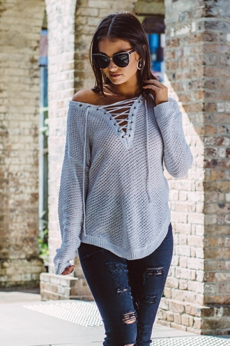 Annaliese Jumper - Grey