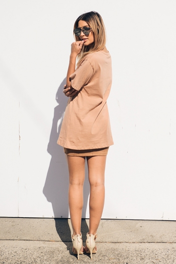 The Shire Dress - Beige