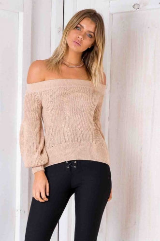 Heart Of Gold Jumper - Blush