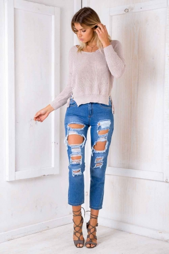Drifting Jeans - Blue Denim