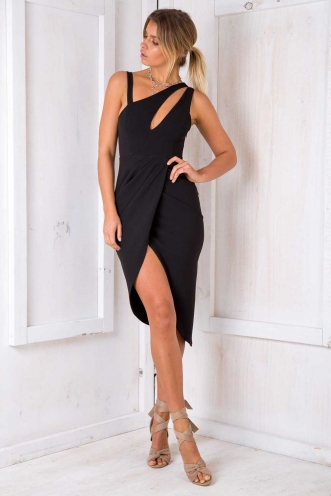 Slay Girl Dress - Black