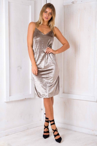 May dress - Grey