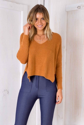 Strawberry kisses Jumper - Orange