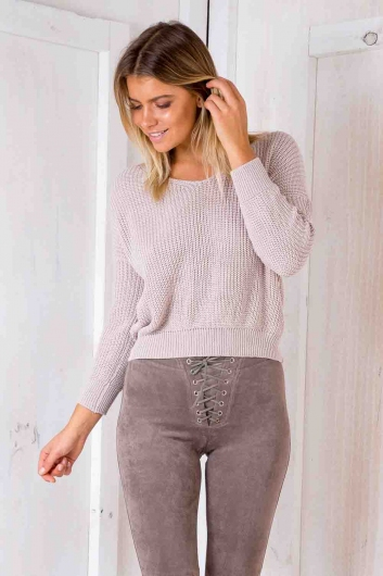 Nothing Compares Jumper - Blush