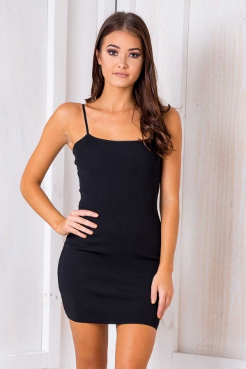 Gemini Dress - Black