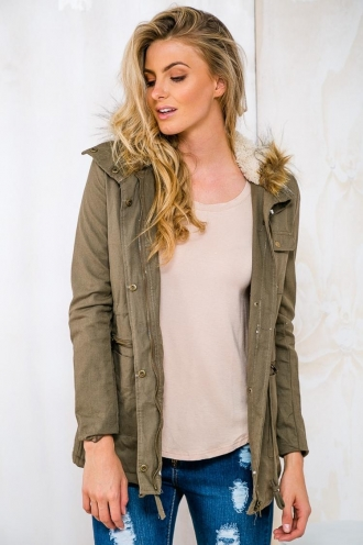 Sour Colada Crush Jacket- Khaki RESHOOT