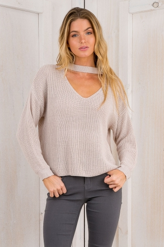 Brooklyn knit jumper - Beige