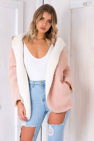 Wrap Me Up Jacket - Blush