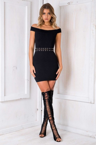 Make It Happen Dress - Black