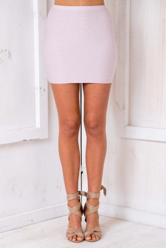 Forget Me Not Skirt - Pink Sparkle