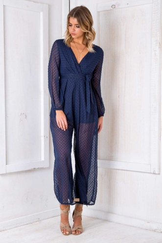 Venice Jumpsuit - Blue