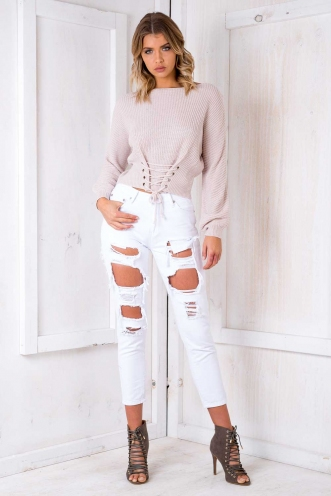 Midsummer Nights Jumper - Blush