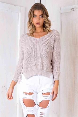 Kiss Me Goodnight Knit - Blush