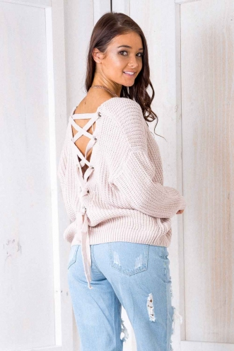 Build Me Up Jumper - Blush